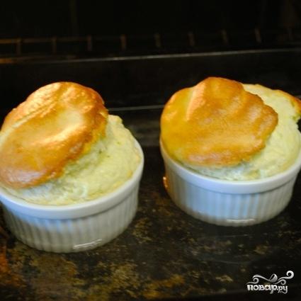Суфле из голубого сыра - фото шаг 9