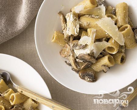 Рецепт Грибная паста с рикоттой