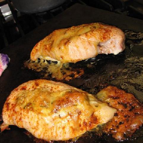 Фаршированная курица Бри - фото шаг 13