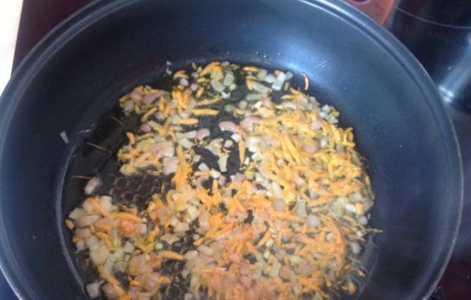 Гречневый суп со свининой - фото шаг 4