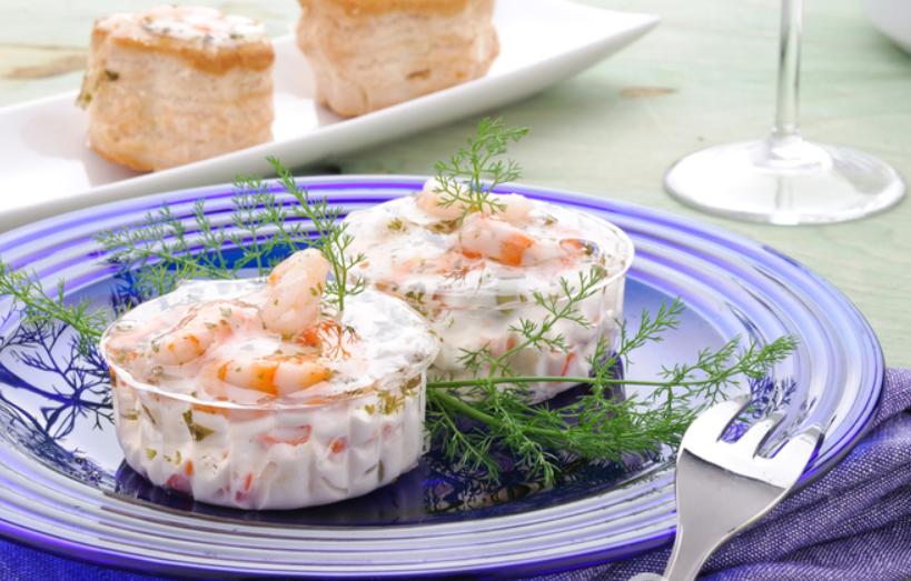 Креветки в сырно-чесночном соусе - фото шаг 4