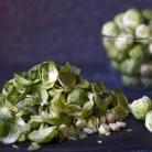 Рецепт Тушеная брюссельская капуста с беконом