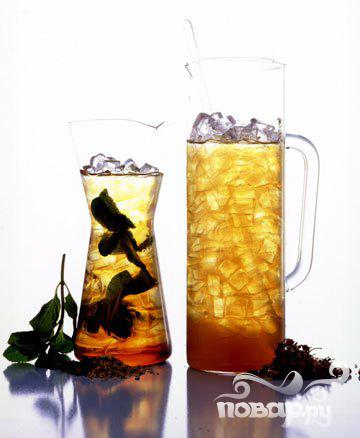 Рецепт Освежающий ромашково-медовый напиток