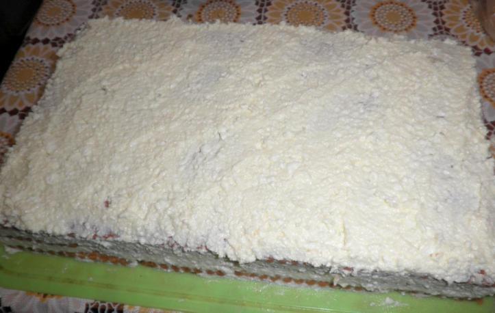 Творожный торт на скорую руку - фото шаг 7