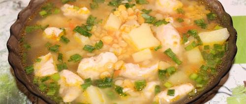 Суп со свининой в мультиварке - фото шаг 6