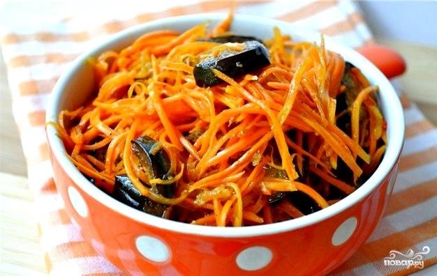 Рецепт Баклажаны жареные с луком и морковью