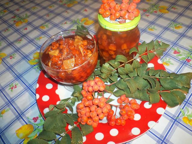 Варенье из рябины рецепт с пошагово