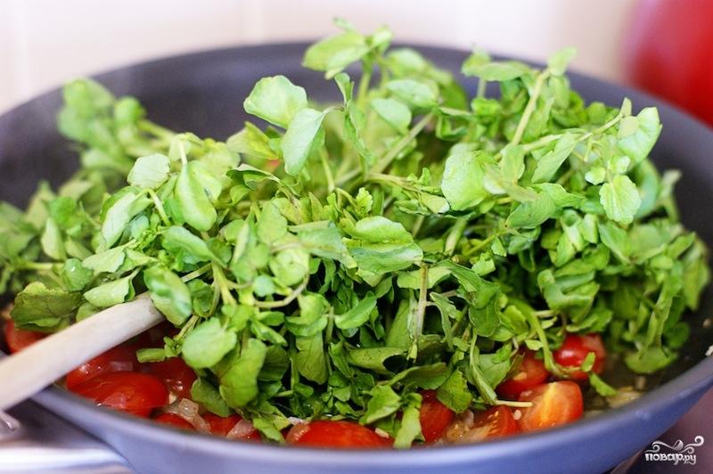 Салат с гребешками - фото шаг 3