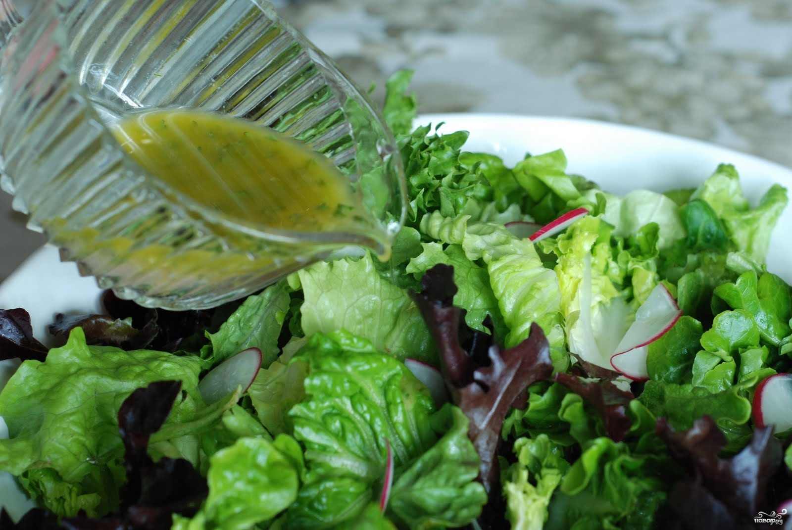 рецепты салатов с французской заправкой