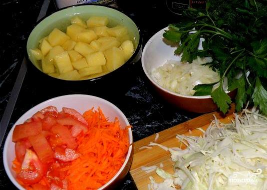 как приготовить щи с мясом капустой морковью