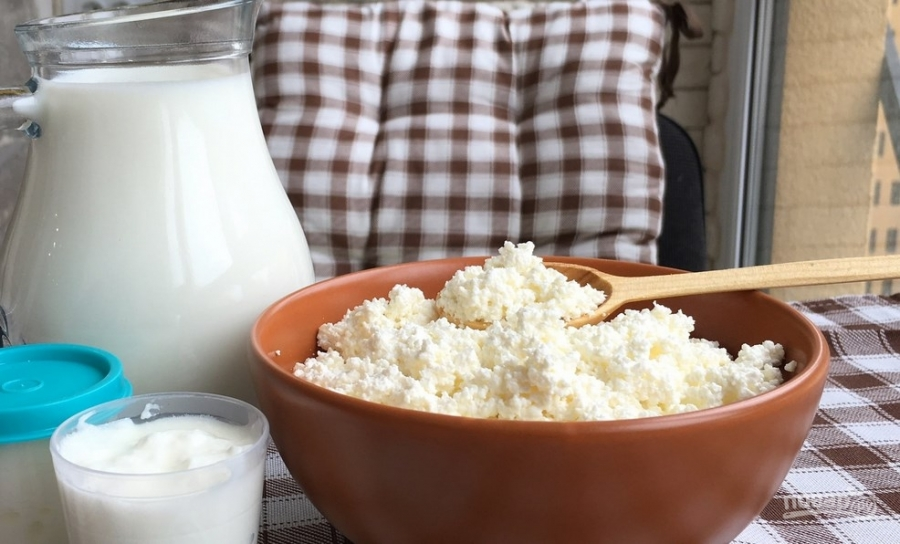 Как с молока сделать творог в мультиварке