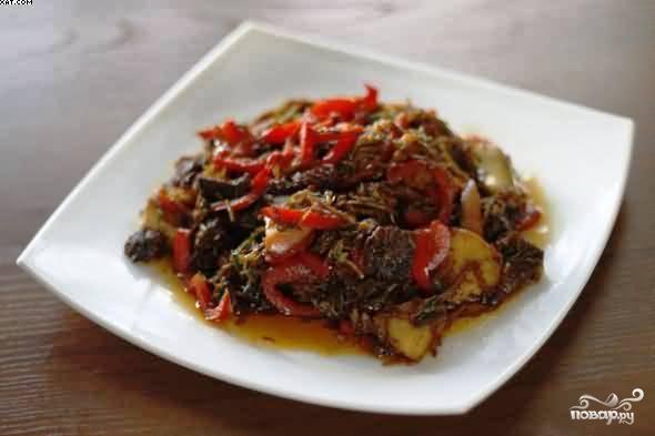 Мясо по-китайски - фото шаг 12