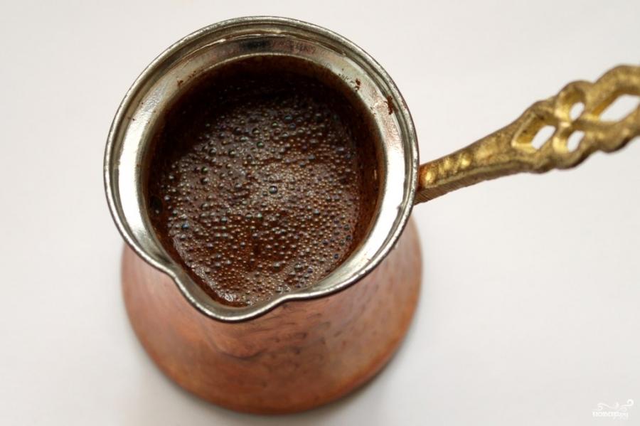 Кофе с пенкой - фото шаг 5