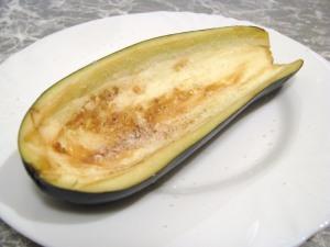 Рецепт Лодочки из баклажанов с фаршем