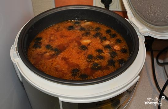 Рецепт солянки в мультиварке поларис с фото