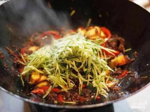 Мясо по-китайски - фото шаг 10