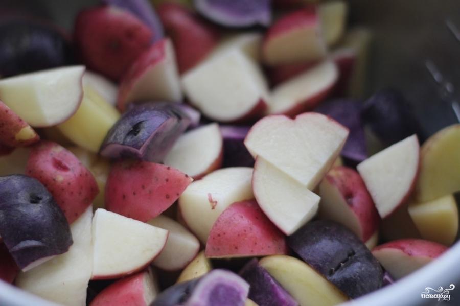 Рецепт Картофельный салат без майонеза