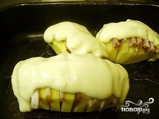 Картофель с грудинкой - фото шаг 5