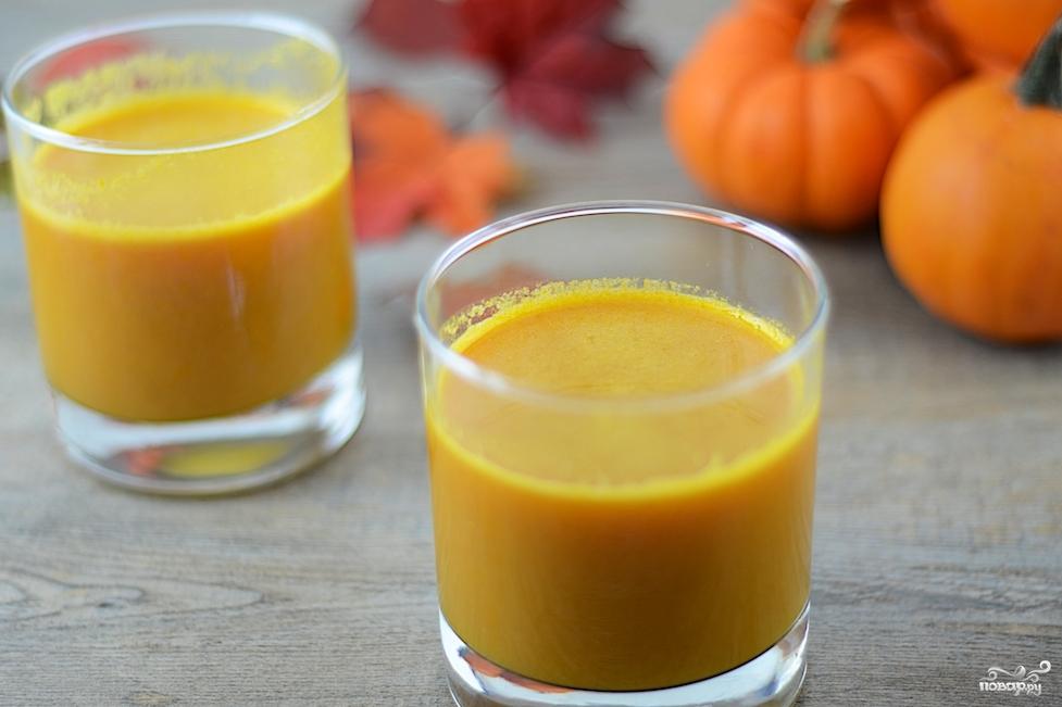 Рецепт Тыквенный сок в домашних условиях