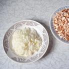 Рецепт Свиные стейки с грибами и брюссельской капустой