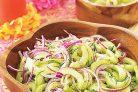Недорогой салат (огуречный)