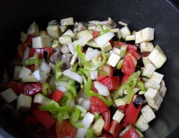 Рагу с мясом и овощами - фото шаг 6