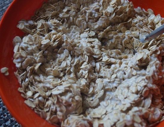 Овсяное печенье на кефире - фото шаг 2