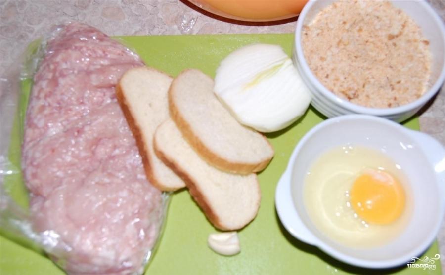 Рецепт Куриные котлеты с подливкой