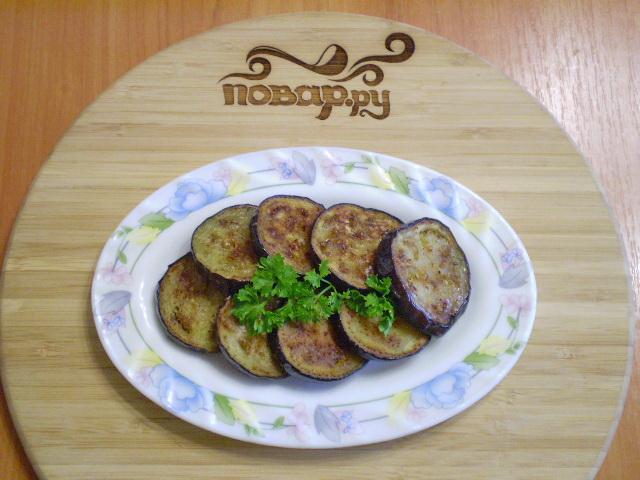 Баклажаны, жаренные на сковороде - фото шаг 6