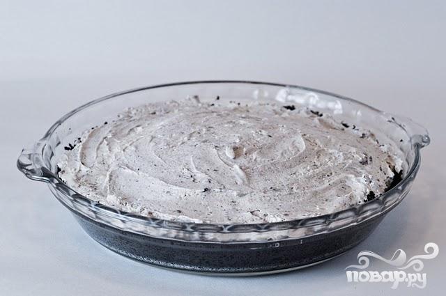 Пирог из крекеров и мороженого - фото шаг 5