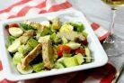 Салат с куриной грудки