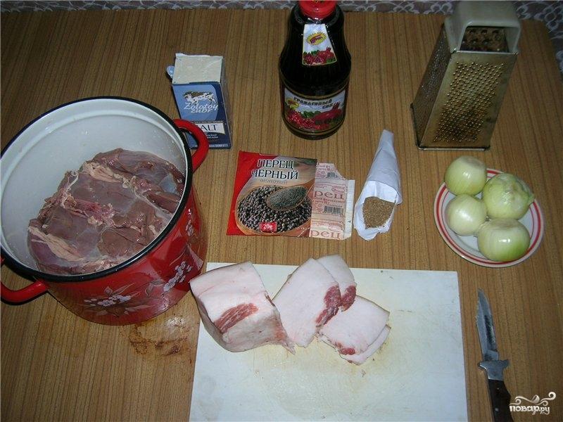 Рецепт Шашлык из косули