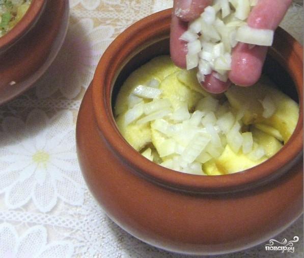 Картофель в горшочках в духовке - фото шаг 7