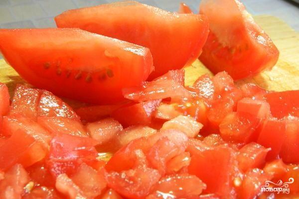 Салат мясной с фасолью - фото шаг 3