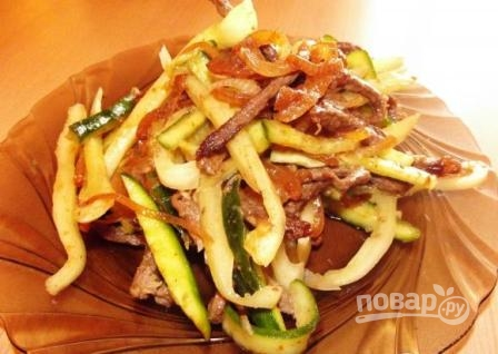 Огурцы по-корейски с мясом - фото шаг 8