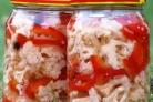 Цветная капуста с перцем