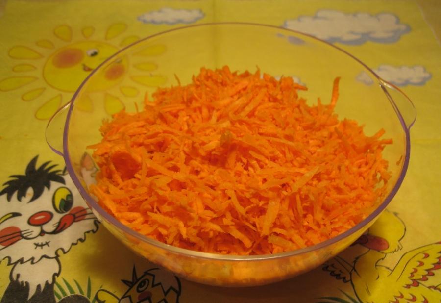 Печень с морковью и луком - фото шаг 3