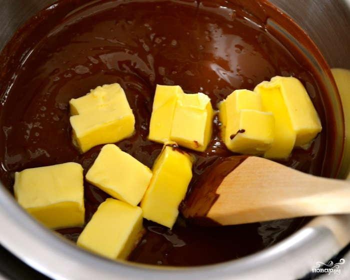 Грушевый пирог с шоколадом - фото шаг 2