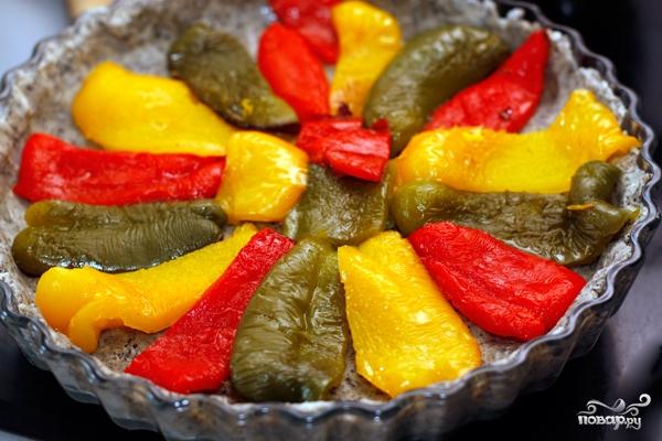 Пирог с разноцветным перцем - фото шаг 7