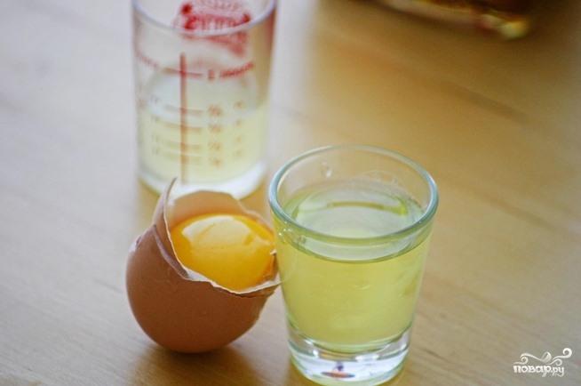 Коктейль со свежим яйцом  - фото шаг 1