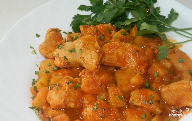 Мясо с картошкой и с овощами в рукаве в духовке рецепт 12