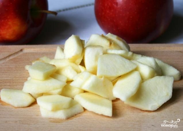 Творожная запеканка с маком и яблоками - фото шаг 5
