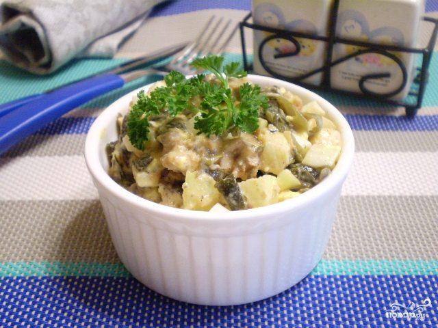 Салат к жареной картошке