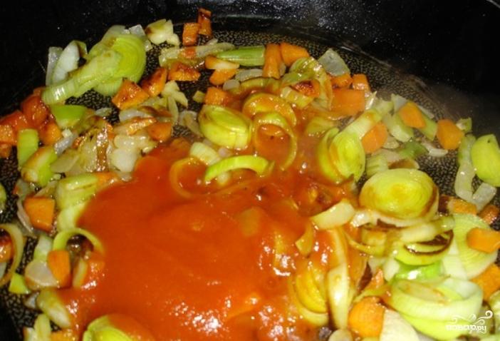 Вегетарианский фасолевый суп - фото шаг 3