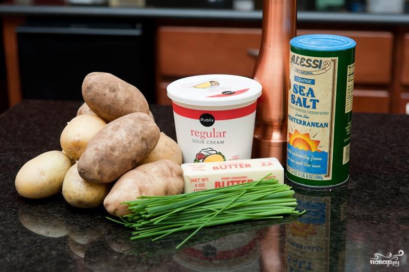 Рецепт Картофельное пюре со сметаной