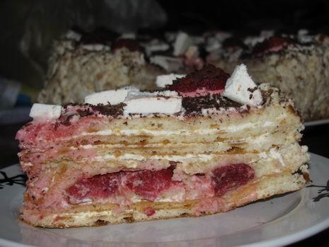 Торт, жареный на сковороде - фото шаг 7