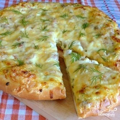 Деревенская пицца - фото шаг 6