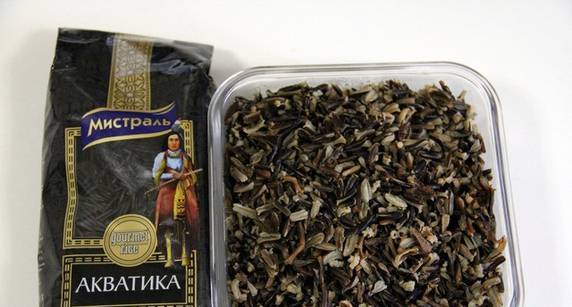 Рецепт Салат с грибами и рисом