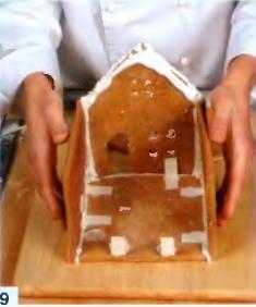 Пряный  домик - фото шаг 9