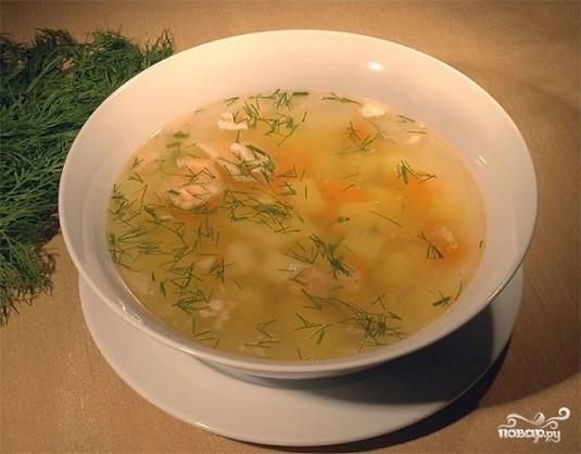 Рецепт Уха из брюшек семги